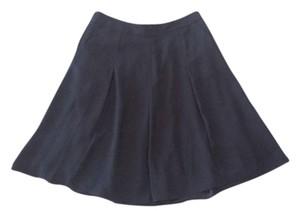 The Limited Pockets Lined Pleated Skirt Black