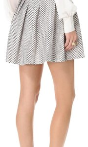Rachel Zoe Mini Skirt black and white