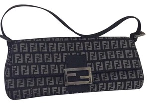 Fendi black and grey Clutch