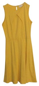 New York & Company short dress canary yellow on Tradesy