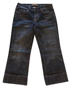 Arden B. Capri/Cropped Denim-Dark Rinse
