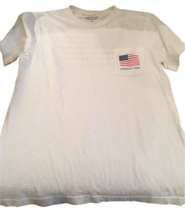Vineyard Vines Short Sleeve 100% Cotton Boys T Shirt White