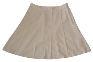 The Limited Lined Skirt Off white/cream
