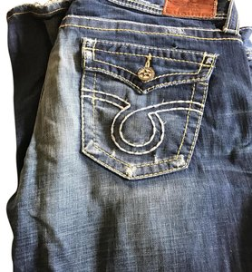 Big Star Boot Cut Jeans-Distressed