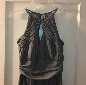 Charcoal Gray Charcoal Gray Bridesmaids Dress Dress
