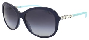 Tiffany & Co. Tiffany & Co. Aria Adagio Blue Sunglasses with Gray Gradient Lenses
