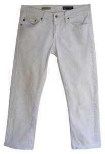 AG Adriano Goldschmied Denim Crop Tomboy Relaxed Fit Jeans-Light Wash