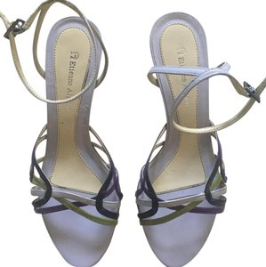 Etienne Aigner purple/green Sandals