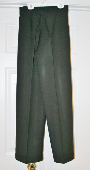 Joule Slacks High Waist Straight Pants Black