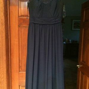 Bill Levkoff Navy Bill Levikoff Brides Maid Dress Dress
