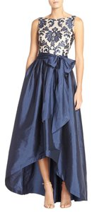Adrianna Papell Lace Ball Gown Embroidered Sleeveless Evening Dress