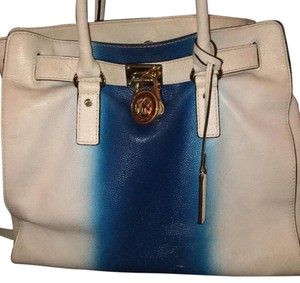 Michael Kors Tote in Blue & White