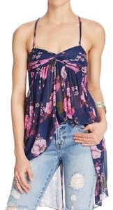 Free People Mirage Floral Babydoll Tunic