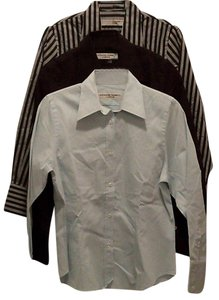 Katharine Hamnett of London Button Down Shirt Black