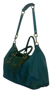 Coach Ashley Satchel in Turquoise