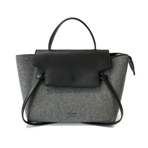 Céline Tote in Grey / Black
