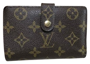 Louis Vuitton French Monogram Canvas Kisslock Bifold Wallet France