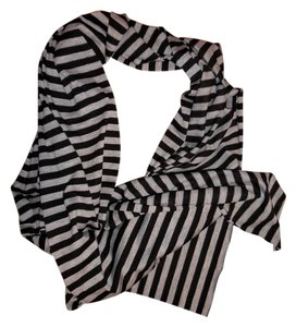 Other Striped Stretchy Boho T-Shirt Scarf