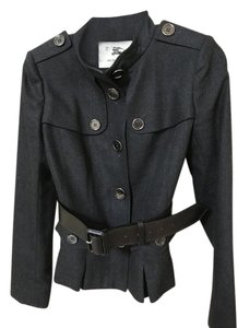 Burberry Burberry woman military wool jacket with belt