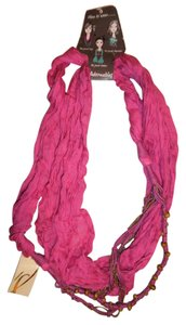 Collection Eighteen Beaded Chains Thin Lightweight Universal Gypsy Boho Scarf