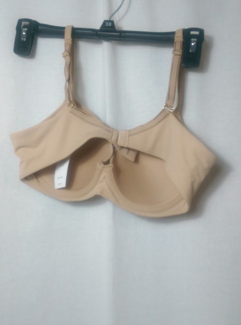 Soma Intimates Embraceable Full Coverage Lined Soft Tan Size 34C