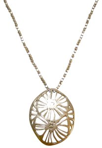 Kenneth Cole Kenneth Cole Floral Gold Necklace