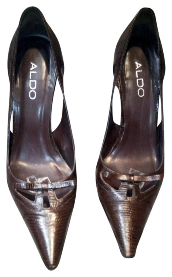 e8df7e691b7 ALDO Brown Pumps Size US 7 Regular (M