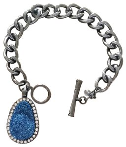 Kenneth Cole Kenneth Cole NY Druzy Charm Toggle Bracelet