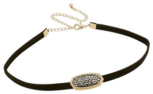 Other Hermite Black/Gold Choker