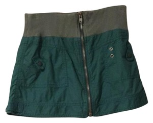 Marc Jacobs Mini Skirt Green