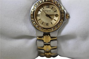 TNA WITTNAUER Ladies Watch Gold and Stainlesss steel 16 DIAMONDS W5241800