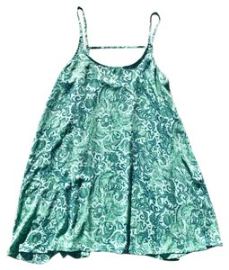 Free People short dress teal and blue on Tradesy