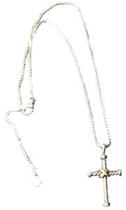 David Yurman DAVID YURMAN CROSS NECKLACE.