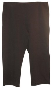 Eileen Fisher Capri/Cropped Pants Brown
