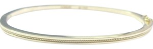 Hidalgo 18Kt Hidalgo Yellow Gold Wire Bangle Bracelet