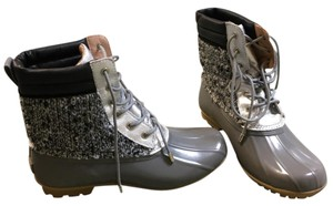 Sam Edelman black, silver, grey Boots