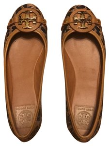 Tory Burch brown/black Flats