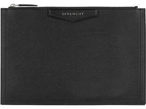Givenchy Antigona Pouch Classic Black Clutch