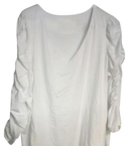 INC International Concepts Cotton Modal T Shirt Bright white