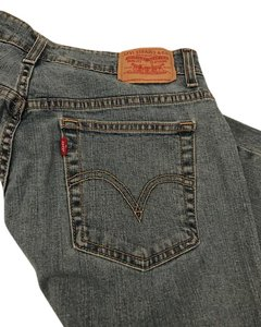 Levi's Capri/Cropped Denim-Light Wash