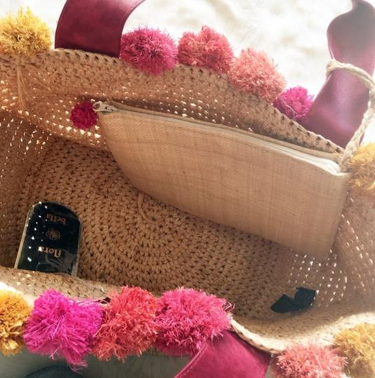 florabella Beach Knit Floral Tote Image 2