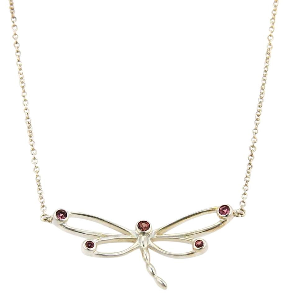 smooth webb with contemporary silver pendant necklace products sterling snake anderson chain dragonfly and