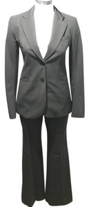 Theory charcoal gray grey pant suit