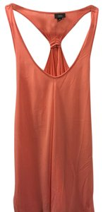Mossimo Supply Co. Racer-back Front Flare Top Coral