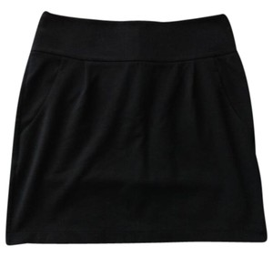 Banana Republic Pockets Mini Skirt Black