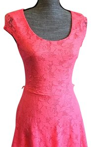 Candie's short dress Pink on Tradesy