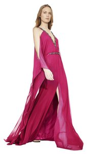 Theia Caftan Gown Silk Dress