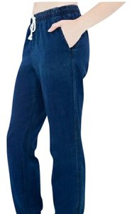 American Apparel Baggy Pants Blue