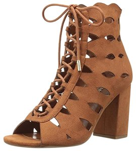 Guess Owina Deigner Cognac Brown Sandals
