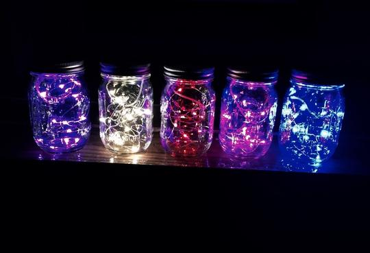 240 Warm Fairy Lights Submersible With Batteries Included